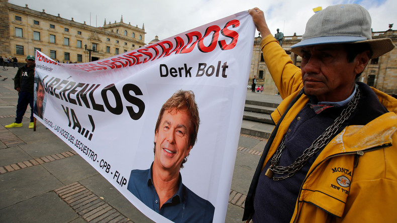 Kolumbien: ELN-Kämpfer lassen zwei entführte niederländische Journalisten frei