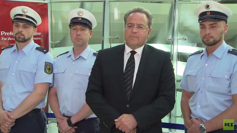 Fußball vereint: Deutsche und russische Polizeibehörden bauen Kooperation vor WM 2018 aus