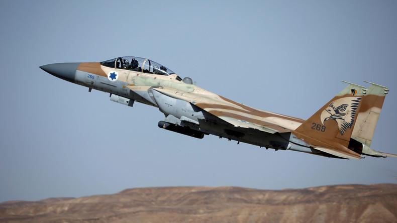 Israels Luftwaffe greift syrische Truppen an: Mindestens zwei syrische Soldaten tot