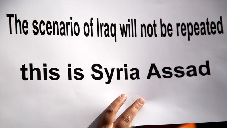 In Syrien und am Golf: US-Militär im Zangengriff der Anti-Terror-Achsenmächte