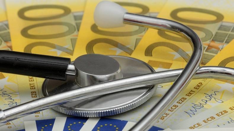 Gesetzliche Krankenkassen machen im ersten Quartal 612 Millionen Euro Plus