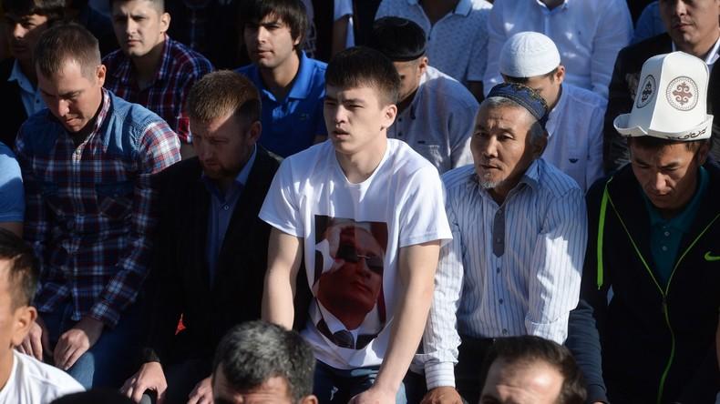 Wladimir Putin wünscht gläubigen Muslimen ein frohes Fest des Fastenbrechens