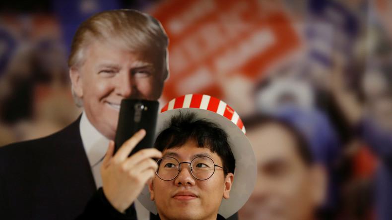 Erstes Treffen zwischen Donald Trump und Moon Jae-in zur Korea-Krise unter schlechten Vorzeichen