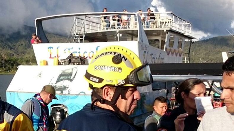 Mindestens neun Touristen sterben bei Schiffsunglück in Kolumbien