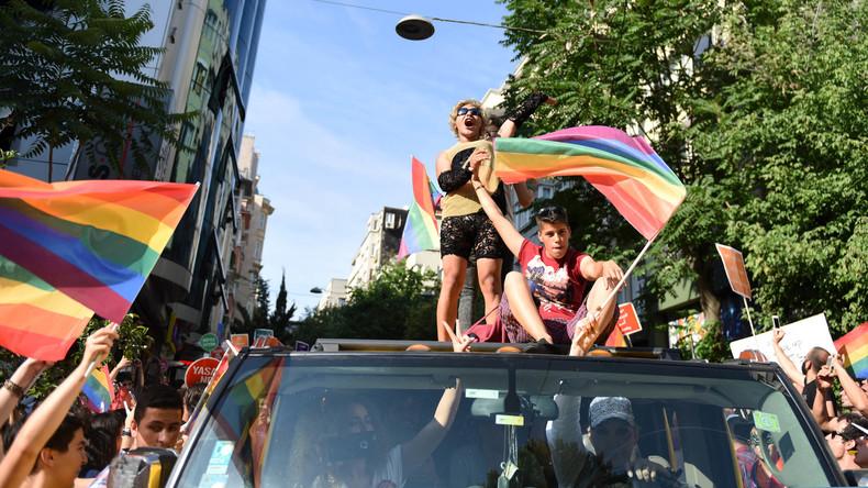 Nach Gay-Pride-Marsch in Istanbul alle Aktivisten wieder frei