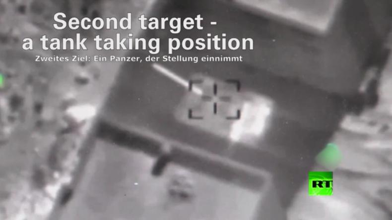 Israel veröffentlicht Video von Luftangriffen auf Syrisch Arabische Armee