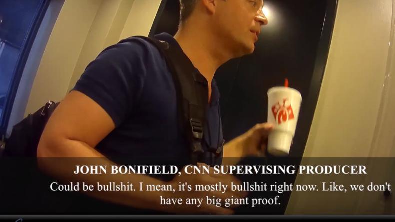 """Fake News: """"Fast alle Berichte über Russland Bullshit"""" – Versteckte Kamera bei CNN-Produzent"""