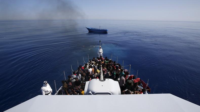 Italienische Polizei nimmt Schlepper wegen Misshandlung von Migranten fest