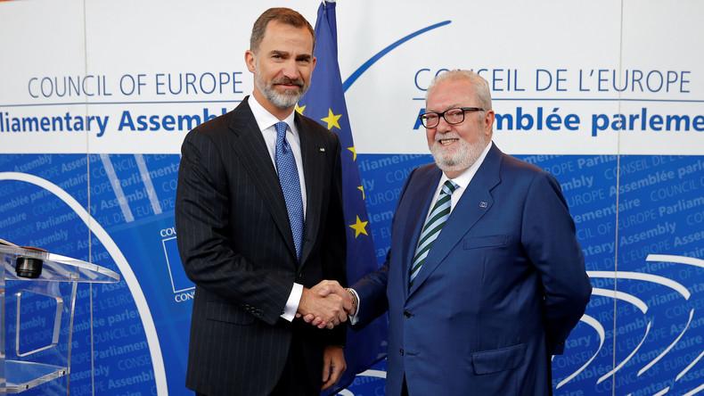 Eklat im Europarat: Amtsenthebung des Präsidenten wegen von Russland organisierter Syrien-Reise