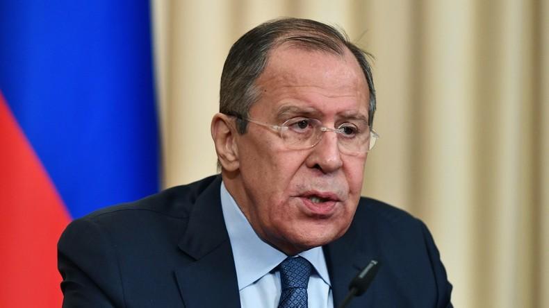 """Sergej Lawrow: US-geführte Koalition muss """"sehr gefährliches Spiel"""" mit Al-Nusra in Syrien stoppen"""