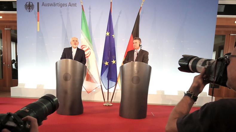 Deutschland und Iran beschwören in Berlin das Nuklearabkommen