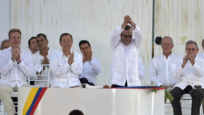 Kolumbien feiert offizielle Entwaffnung der Farc-Guerillas