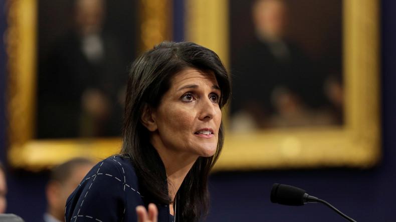 """USA spekulieren auf """"potenzielle Vorbereitungen für einen weiteren Giftgasangriff"""" Syriens"""