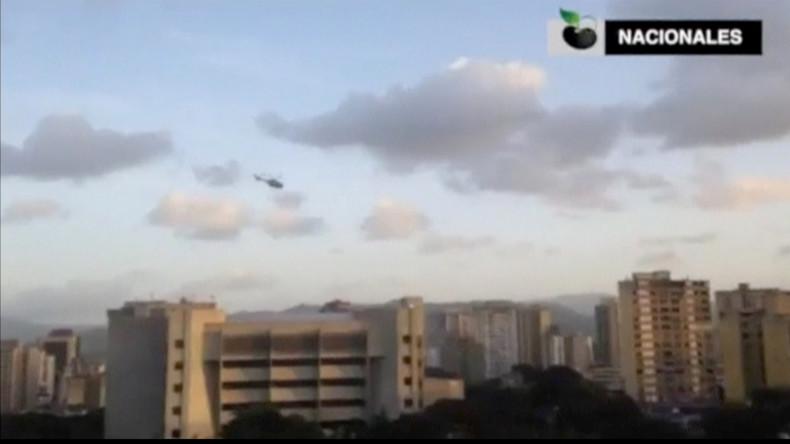 """Hubschrauber-Attacke in Caracas – Nicolás Maduro spricht von """"Putschversuch"""""""