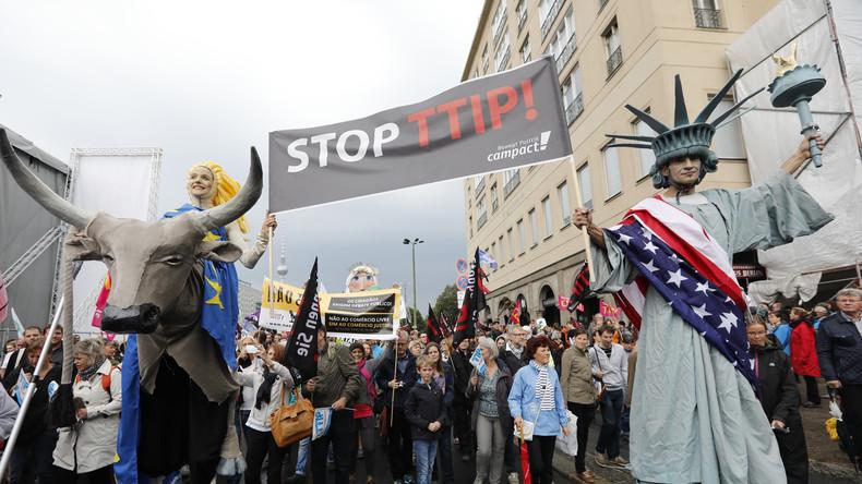 Kommt TTIP doch? Merkel für Neuaufnahme von Verhandlungen mit den USA