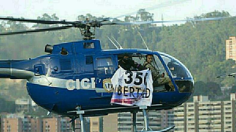 """Terroristischer Angriff"" - Venezolanische Oppositionelle bombardieren oberstes Gericht"