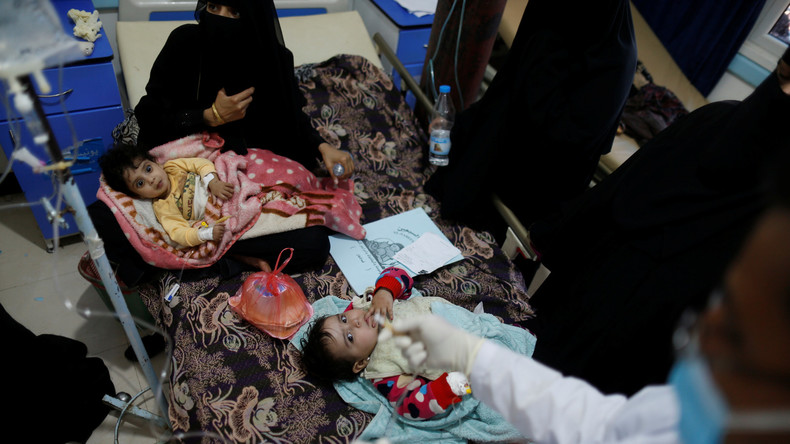UNICEF liefert 36 Tonnen Hilfsgüter in Cholera-Gebiete im Jemen