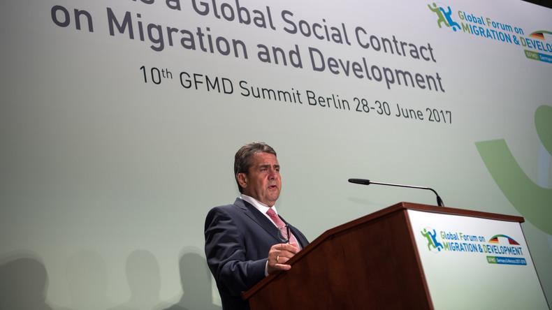Gabriel wirbt für neue Migrationspolitik - weniger Verbote