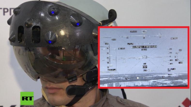 Russland: VR-Helm soll die militärische Luftfahrt in Russland revolutionieren