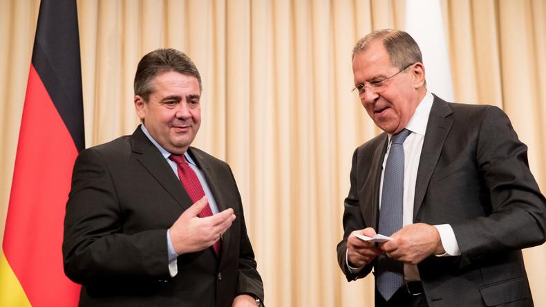 Live: Lawrow und Gabriel geben gemeinsame Pressekonferenz in Krasnodar