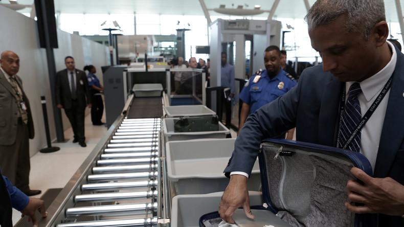 280 Flughäfen weltweit müssen sich neuen US-Sicherheitsbestimmungen beugen
