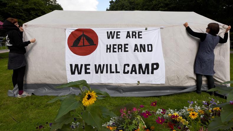 Erfolg mit Beigeschmack: Karlsruhe kippt Camp-Verbot für G20-Gegner - teilweise