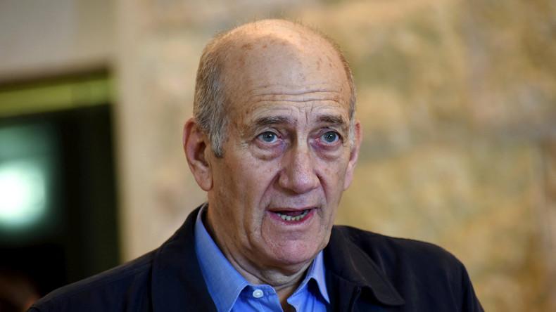 Israels Ex-Regierungschef Ehud Olmert soll vorzeitig freikommen
