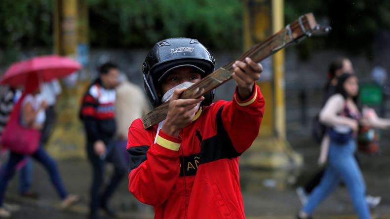 Fünf Jugendliche sterben bei Protesten in Venezuela