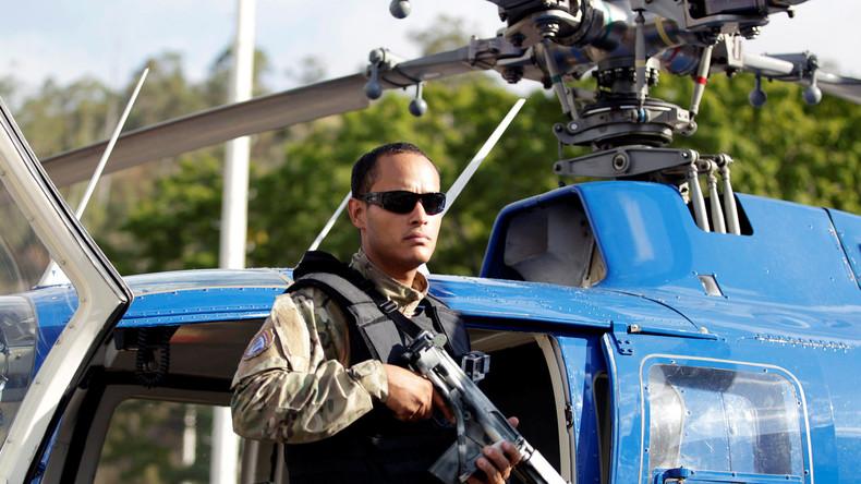 Venezuela: Regierungskritiker halten Hubschrauber-Attacke für eine Inszenierung