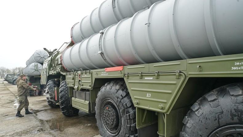 Russland liefert an den NATO-Staat Türkei hochmoderne S-400 Luftabwehrsysteme