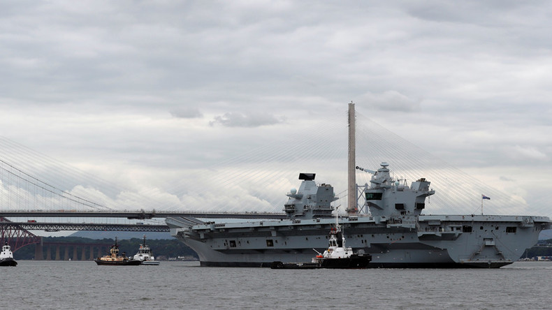"""Moskau zu neuem britischem Flugzeugträger HMS Queen Elizabeth: """"Großes und bequemes Angriffsziel"""""""