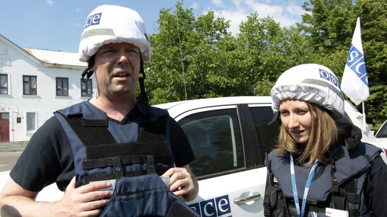 Beschuss im Donbass ignoriert: Wie die etablierten Medien die OSZE-Berichte auslegen