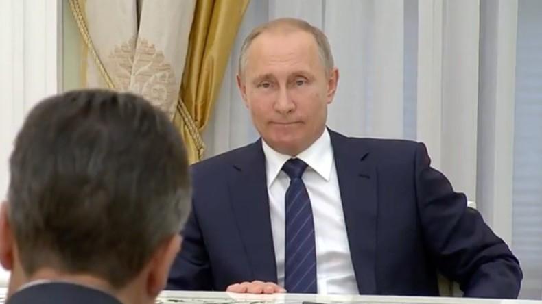 Spontaner Termin: Wladimir Putin trifft Außenminister Gabriel in Moskau