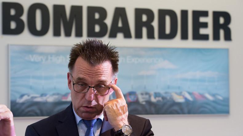 Zugbauer Bombardier streicht in Deutschland jeden vierten Arbeitsplatz