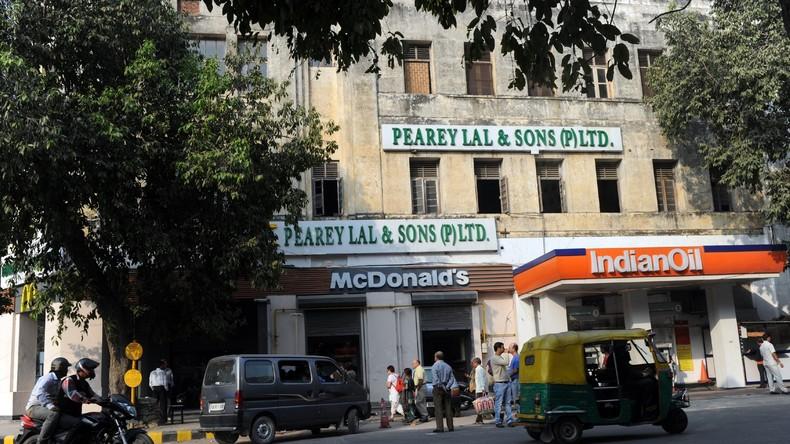 70 Prozent der McDonald's-Filialen in Neu Delhi geschlossen