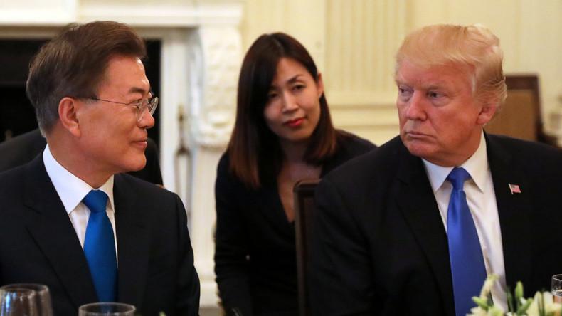 Treffen zwischen Moon und Trump:  Wie geht es weiter auf der Halbinsel Korea?