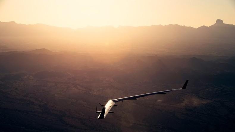 Facebooks Internet-Drohne beim zweiten Flug sicher gelandet