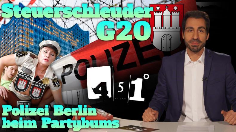 451 Grad | G20 Gipfel erklärt | Polizei Berlin eskaliert |40
