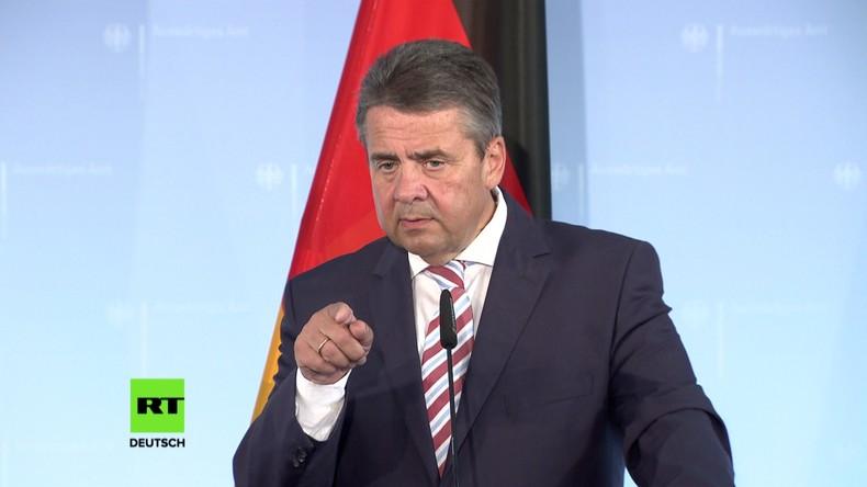 """Sigmar Gabriel zu neuen US-Sanktionen gegen Russland: """"Handelskrieg mit Europa nicht sinnvoll"""""""