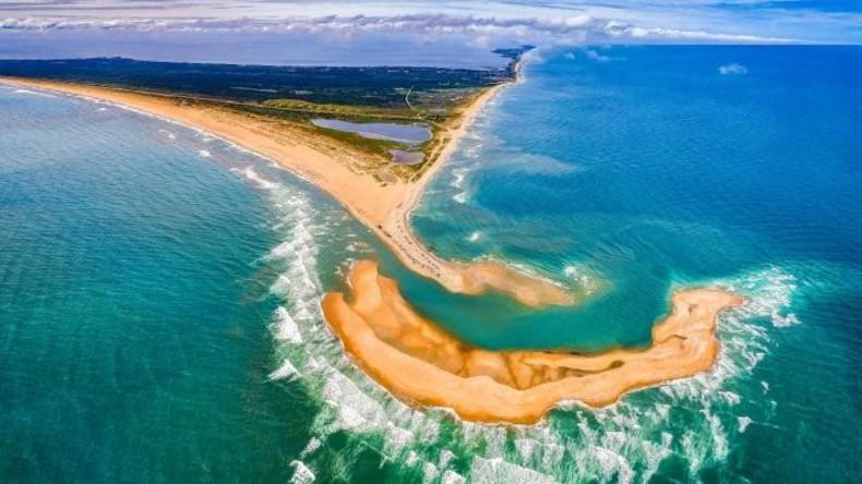 Vor US-Ostküste ist neue kleine Insel entstanden