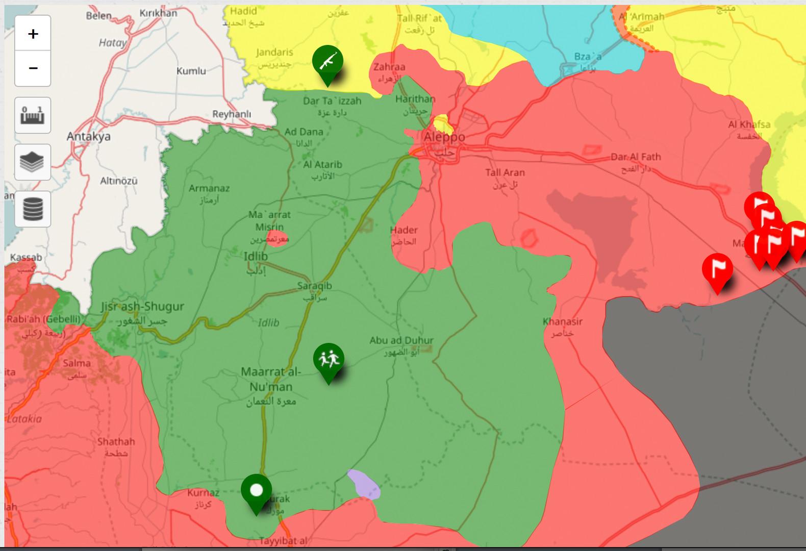 Syrische Armee befreit Maskanah- ISIS aus Aleppo vertrieben