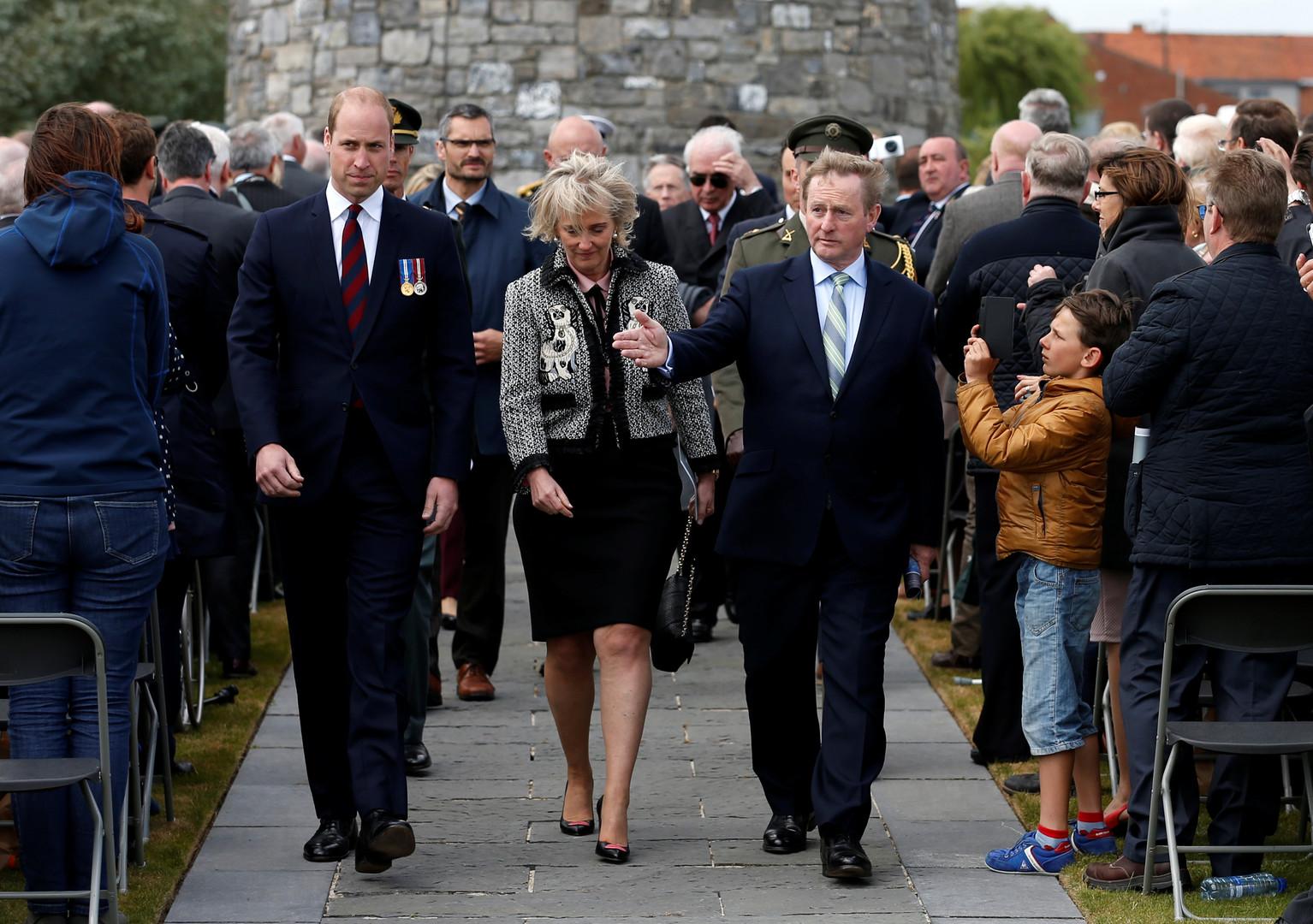 Prinz William gedenkt vernichtender Schlacht des Ersten Weltkriegs gegen Deutschland