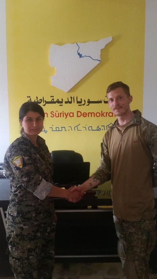 YPG/SDF-Pressesprecher im Exklusiv-Interview: Wir sind das Schild, das Europa verteidigt