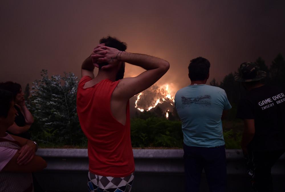 """António Costa, der Premierminister Portugals, bezeichnete den Waldbrand als """"größte Tragödie des menschlichen Lebens, die wir seit Jahren erlebt haben""""."""