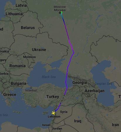 Umflug nicht mehr nötig - Türkei lässt russisches Militärflugzeug aus Syrien durch