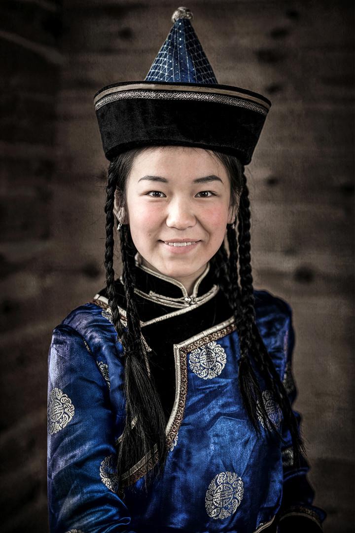 Soyot-Mädchen