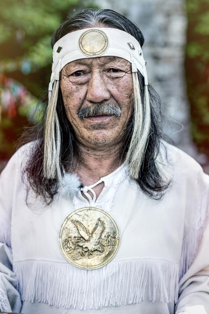 Jakutischer Schamane
