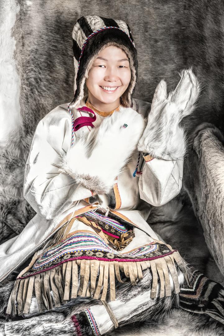 Jukagiren-Mädchen