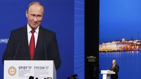 Wladimir Putin zum Pariser Klimaabkommen: