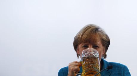 Angela Merkel in München, Deutschland, 15. Mai 2013.